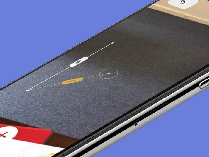 Metingen uitvoeren en niveaus controleren met de nieuwe meetapp van de iPhone 1