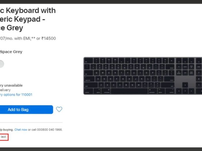 Apple stopt met Space Gray Magic Keyboard, Trackpad en Mouse