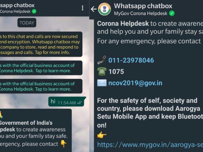 Hier leest u hoe u met de MyGov-chatbot op WhatsApp naar vaccinatiecentra in de buurt kunt zoeken